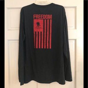UNDER ARMOUR Freedom Flag Long Sleeve T-Shirt